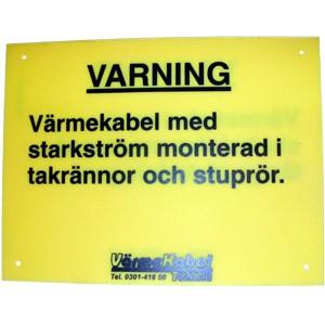 varningsskylttak
